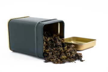 Box with tea