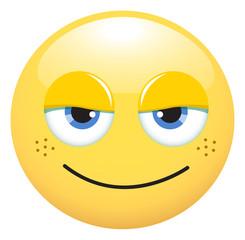 Emoticono pecoso