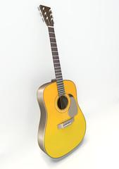 3D guitar standing