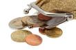 Portmonee mit Kleingeld