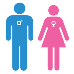 Love symbols - Male & Female