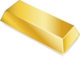 Gold ingot poster