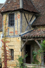 Sarlat, maison à colombage