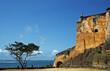 canvas print picture - Fort Jesus in Mombasa, Kenia