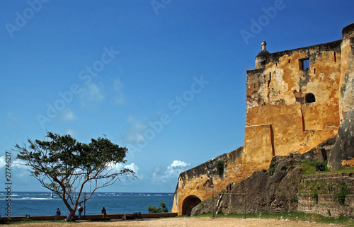Fort Jesus in Mombasa, Kenia - 27746217