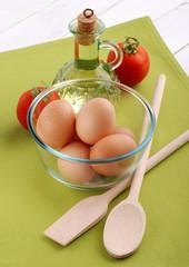 uova in scodella uno
