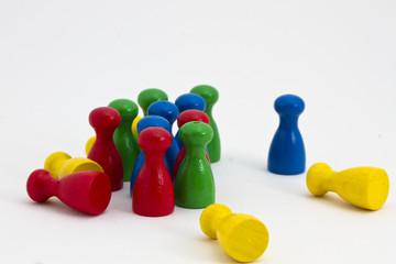 Spielfiguren aus Holz