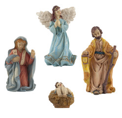 Jesus, Mary, Joseph and the Angel