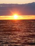 Lake Superior Sunset poster