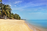 Beautiful tropical beach in Koh Samui, Thailand