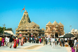 Temple of Somnath, , Gujarat, India poster