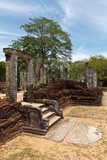 Ruins. Ancient city of Polonnaruwa. Sri Lanka