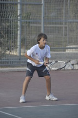 Tennis youth competition, Migdal Haemek, Israel