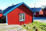 Å, Moskenes in Lofoten, Norway, Scandinavian poster