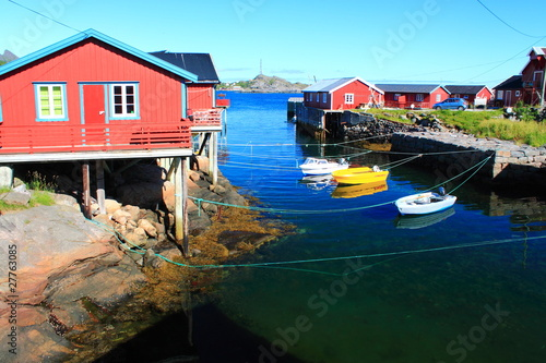 Å, Moskenes in Lofoten, Norway, Scandinavian