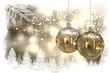 fondo con motivos Navideños, Bolas de Navidad