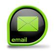 Button Email grün Kreiseck