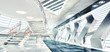 3D Render Of Stylish Interior