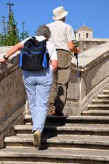 Rom - Piazza di Spagna - Trinità dei Monti