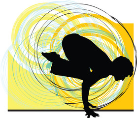 Yoga illustration