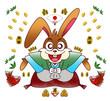 挨拶ウサギ