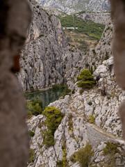 Durchblick auf der Burg
