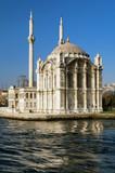 Ortakoy mosque (Kucuk Mecidiye Mosque) in Istanbul, Turkey