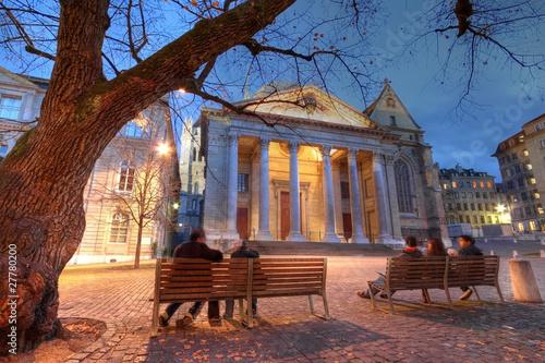 St-Pierre Cathedral, Geneva, Switzerland