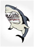 shark jaws poster