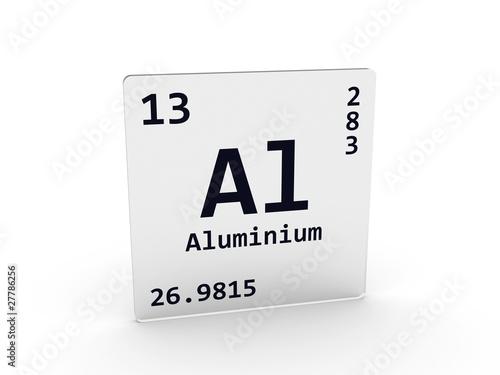 Symbole chimique de l 39 aluminium for Aspect de l aluminium