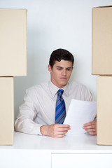 Checking up delivery documents