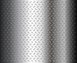 Metal diamond plate texture, vector.