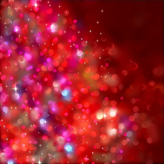 Christmas lights. (Without a transparency) EPS 8
