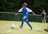 fată de joc fotbal