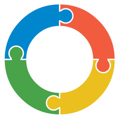 Circular Jigsaw Logo