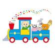 Tren infantil con animales