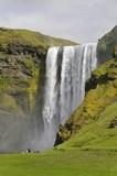 cascade de skogafoss poster
