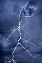 Lightening Bolt from Zues