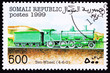 Somali Train Postage Stamp Old Railroad Steam Engine Locomotive