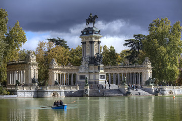Park Retiro in Madrid I