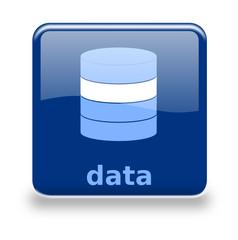 Button Datenbank blau