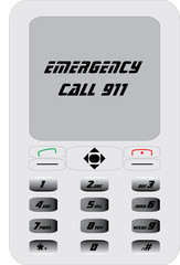 mobile phone 911