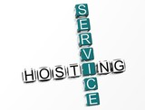 Service Hosting Crossword poster