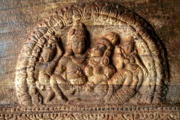 Pillar carving