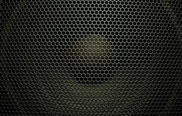 Black audio speaker
