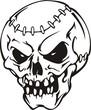 Skulls.Mascot Templates.