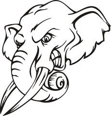 Elephant.Mascot Templates.