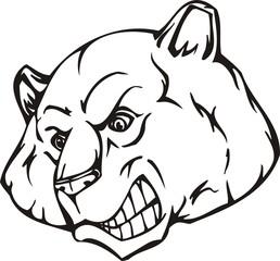 Bear.Mascot Templates.