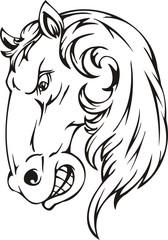 Horse.Mascot Templates.