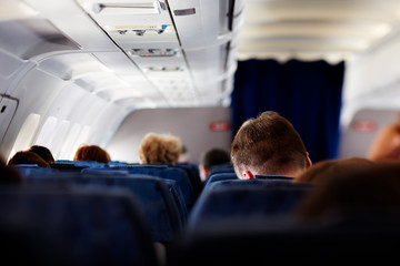 people in the aircraft